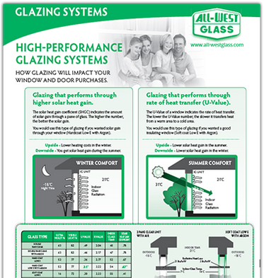 Glazing Systems Flyer